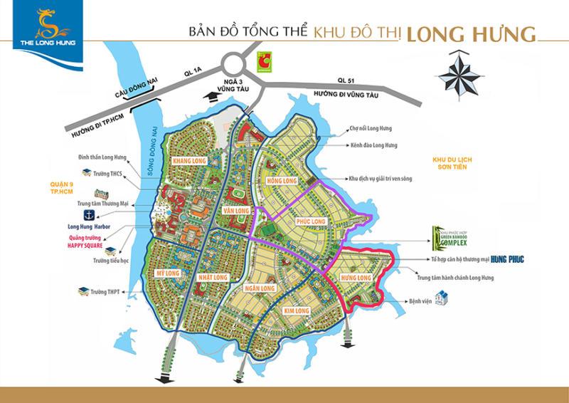 9 tiểu khu dự án long hưng city